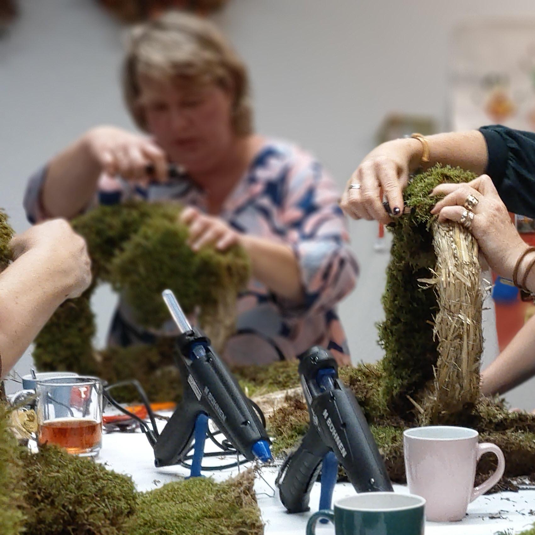 Bloemsierkunst Groeneveld Haren Groningen workshop kerst
