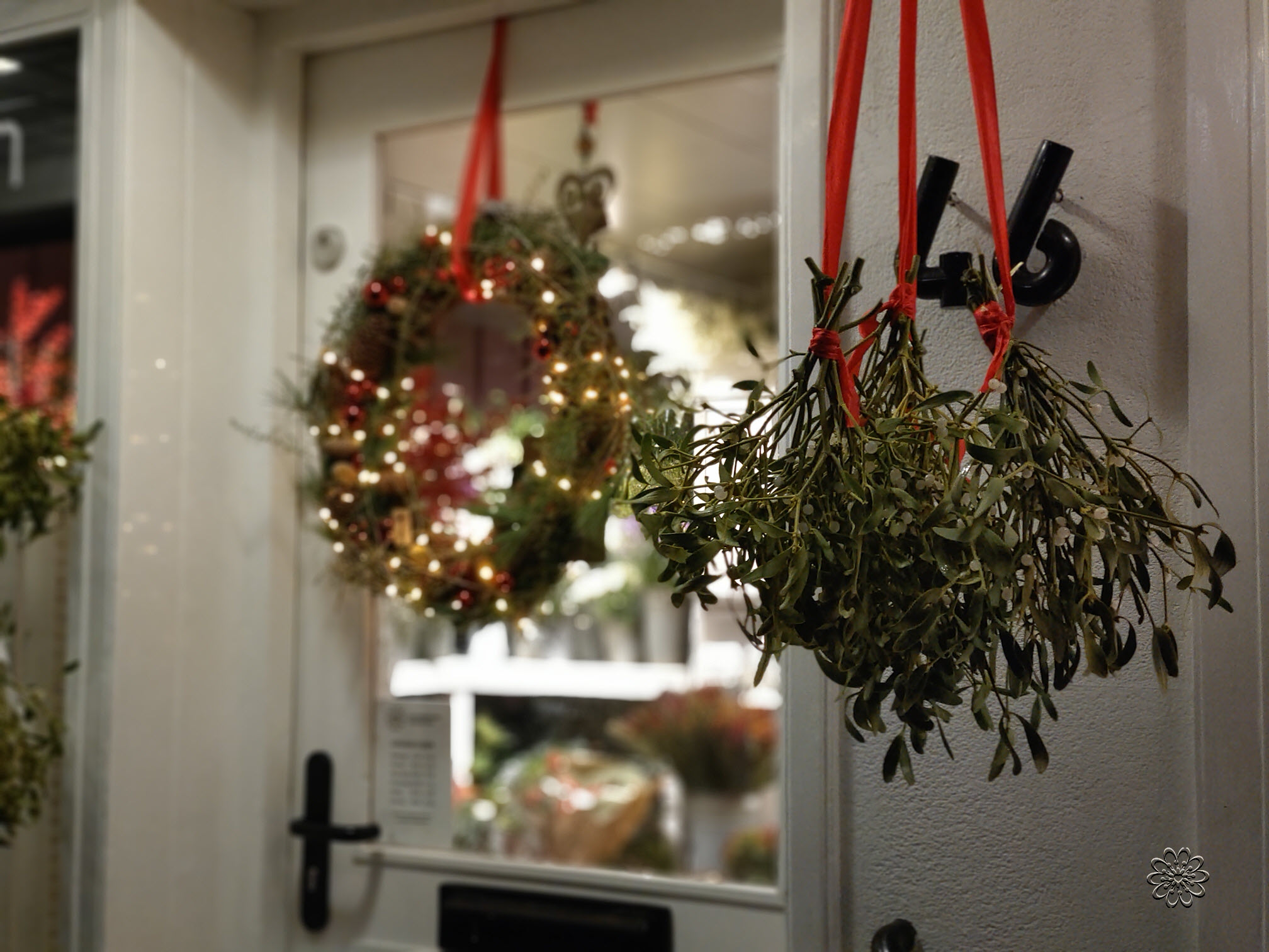 Voor kerst inspiratie opdoen bij Bloemsierkunst Groeneveld Haren Groningen