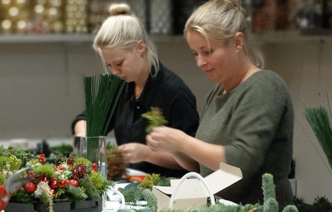 Plezier staat voorop tijdens kerst workshops