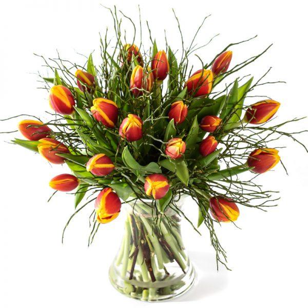 Tulpen koop je bij Bloemsierkunst Groeneveld in Haren bij de bloemist van Groningen