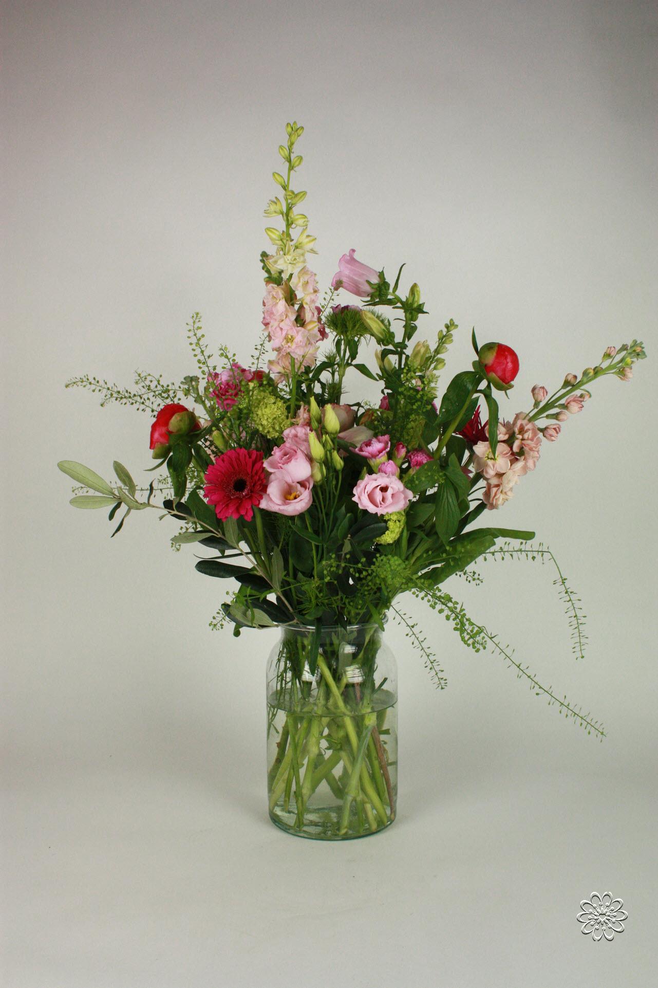 Boeket Bloemsierkunst Groeneveld roze