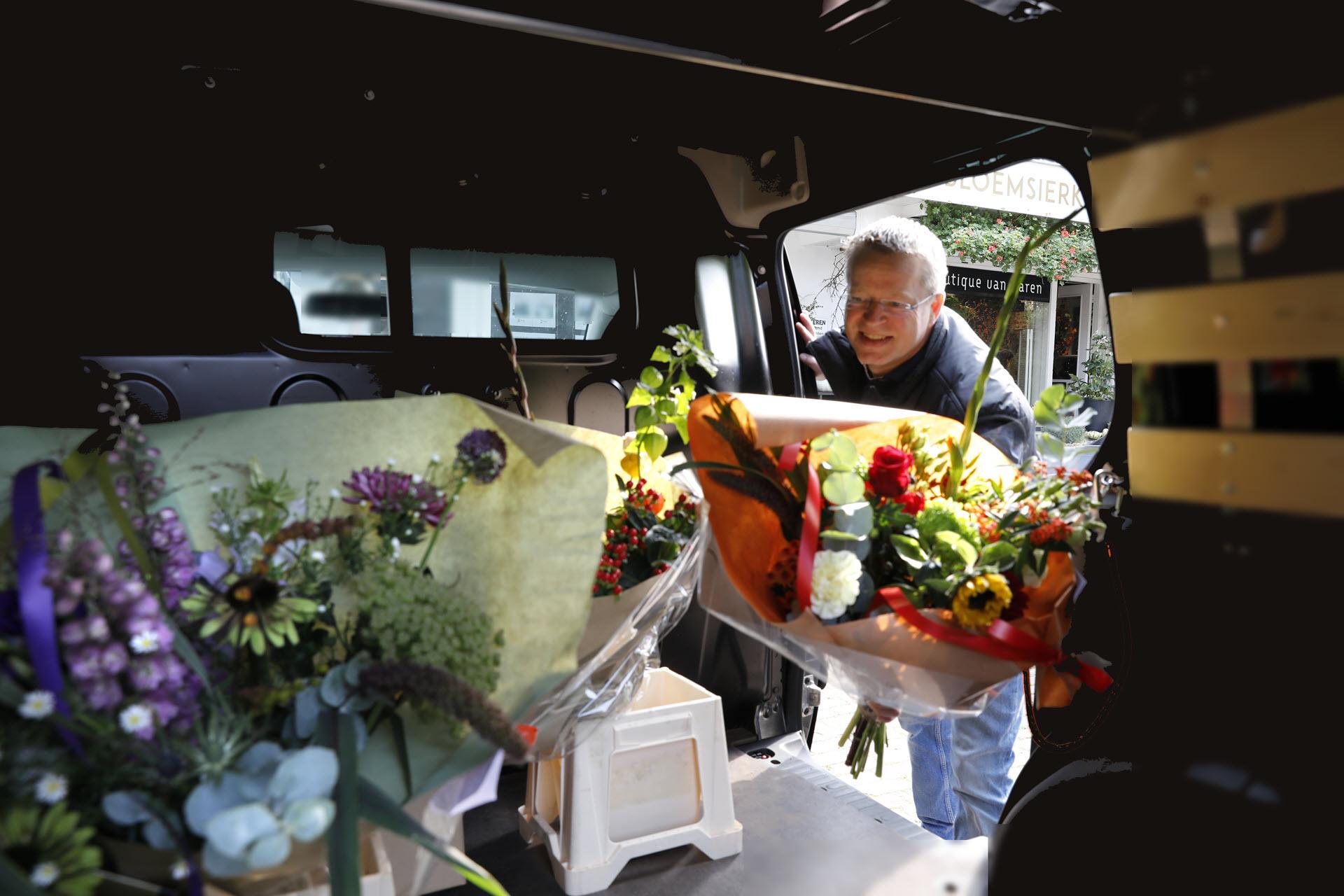 Bloemsierkunst Groeneveld bloemist in Haren / Groningen sinds 1973