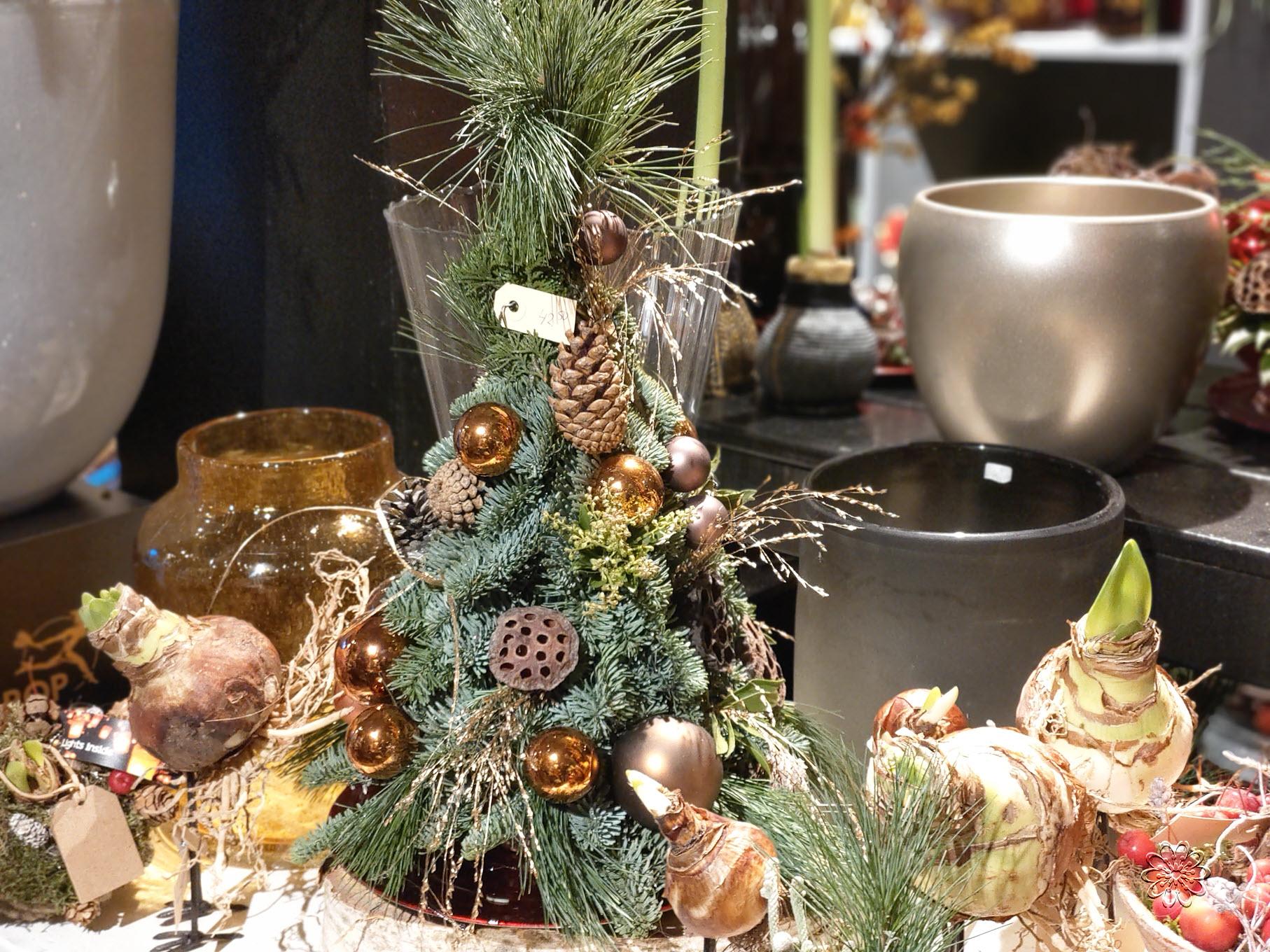 Kerst bij Bloemsierkunst Groeneveld te Haren Groningen Glimmen Onnen Noordlaren