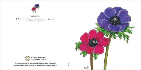Luxe bloemenkaarten Bloemsierkunst Groeneveld