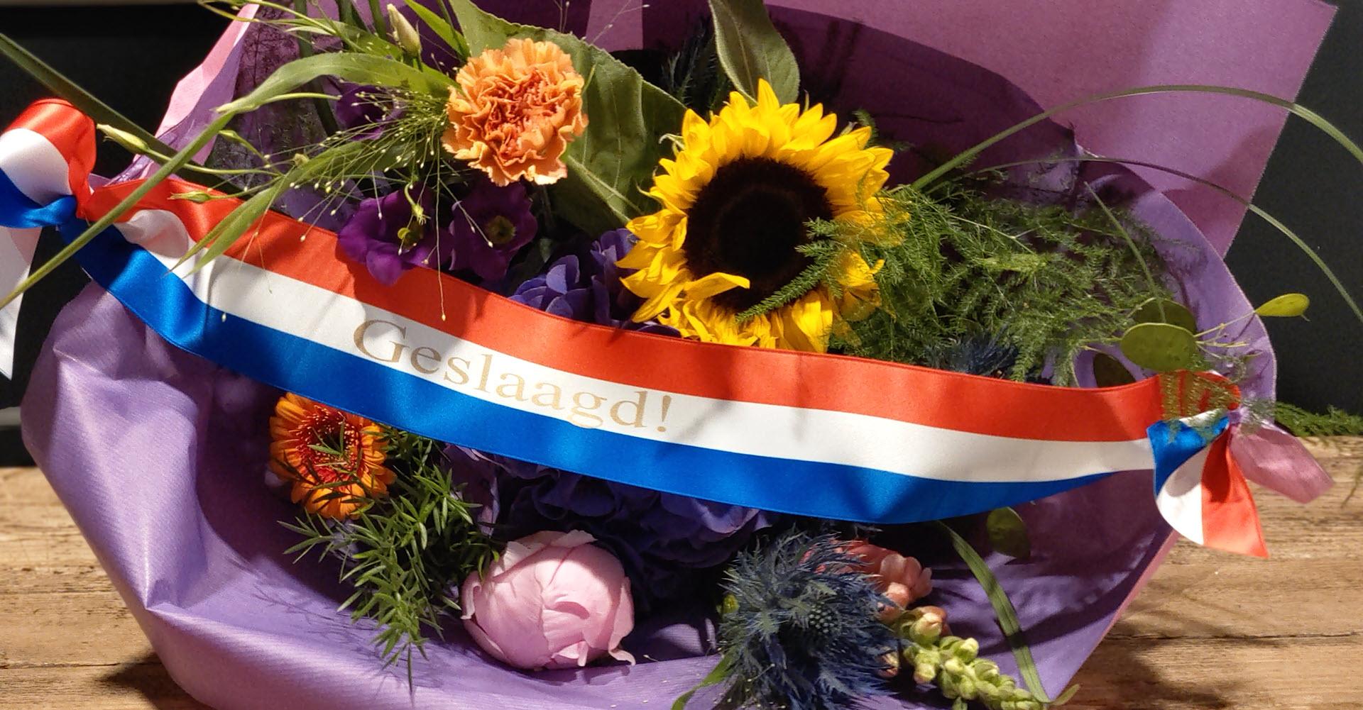 Eindexamens in Haren - Boeket bezorgen Groningen