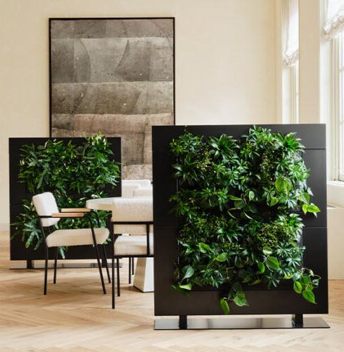 Bloemsierkunst Groeneveld roomdivider met planten