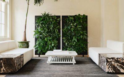 Een design roomdivider voor een gezonde luchtkwaliteit